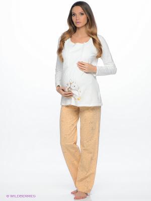 Комплект одежды HAYS. Цвет: молочный, бежевый