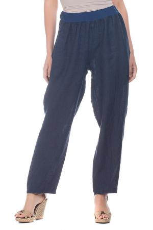 Pants LAURA MORETTI. Цвет: navy