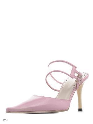 Сабо GIOTTO. Цвет: розовый