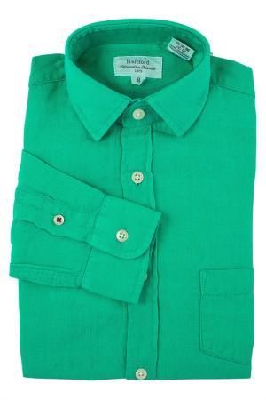 Рубашка HARTFORD. Цвет: зеленый