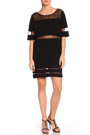 Платье DARBOURSTORE. Цвет: черный