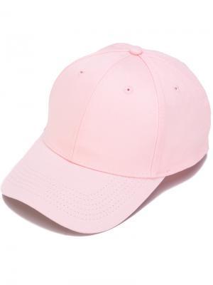 Кепка с принтом Im not a rapper F.A.M.T.. Цвет: розовый и фиолетовый