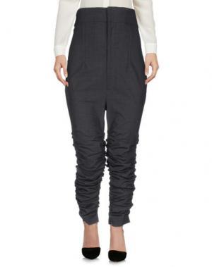 Повседневные брюки JACQUEMUS. Цвет: стальной серый