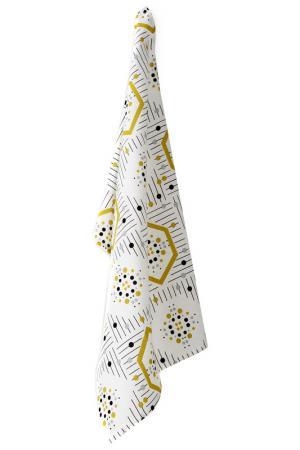 Полотенце кухонное Стелла Daily by T. Цвет: белый, желтый