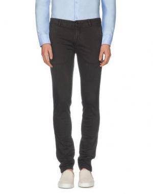 Повседневные брюки EN AVANCE. Цвет: темно-коричневый