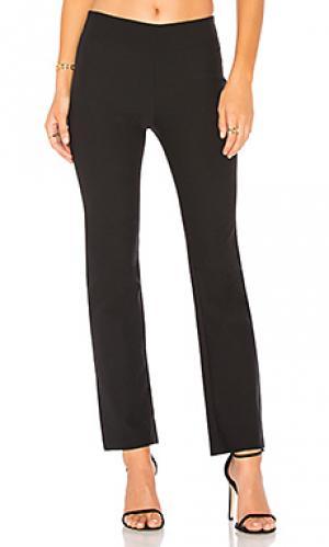 Укороченные расклешенные брюки Vince. Цвет: черный