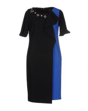 Короткое платье CHIARA D'ESTE. Цвет: черный