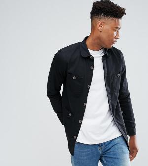 Another Influence Куртка TALL. Цвет: черный