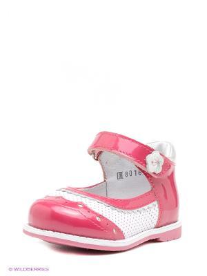 Туфли ELEGAMI. Цвет: розовый