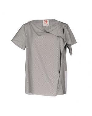 Блузка ANDREA TURCHI. Цвет: белый