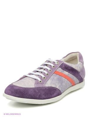 Кроссовки El Tempo. Цвет: фиолетовый