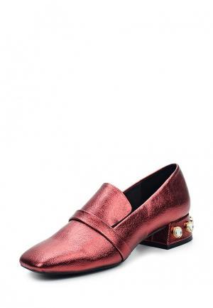Туфли Mango. Цвет: красный