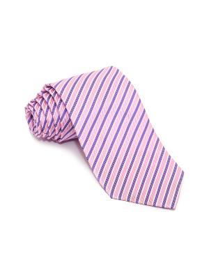 Галстук Churchill accessories. Цвет: бледно-розовый, фиолетовый