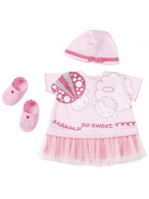Игрушка Baby Annabell Одежда для теплых деньков, кор. ZAPF. Цвет: розовый