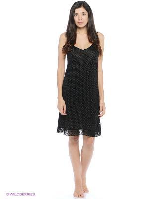 Ночная сорочка Marie Claire. Цвет: черный