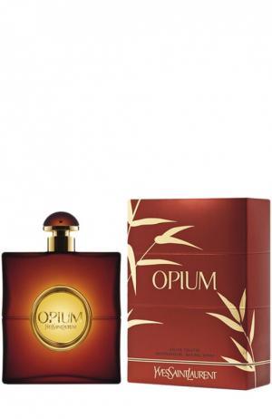 Туалетная вода Opium YSL. Цвет: бесцветный