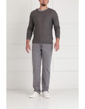 Пуловер Donna Karan. Цвет: серый