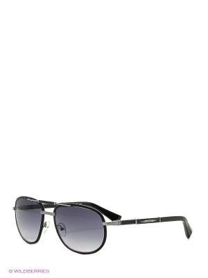 Солнцезащитные очки BLD 1623 102 Baldinini. Цвет: черный, золотистый