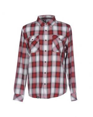 Pубашка LRG. Цвет: красно-коричневый