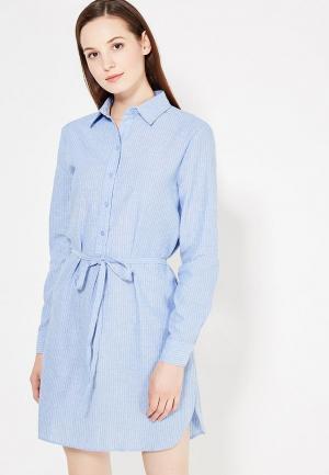 Рубашка Art Love. Цвет: голубой