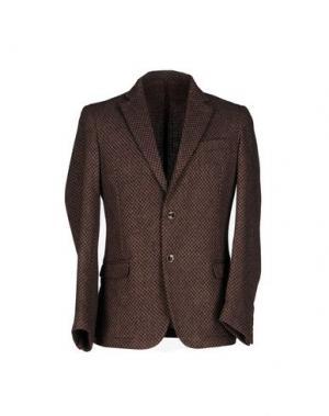 Пиджак ROBERTO PEPE. Цвет: темно-фиолетовый