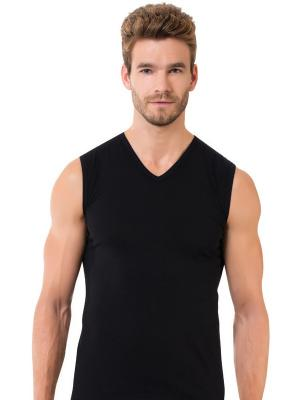 Майка мужская Oztas underwear. Цвет: черный
