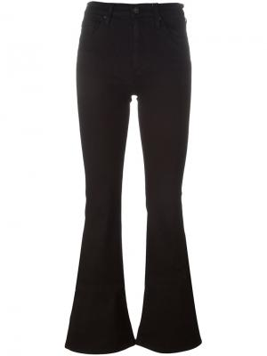 Расклешенные джинсы Ag Jeans. Цвет: чёрный