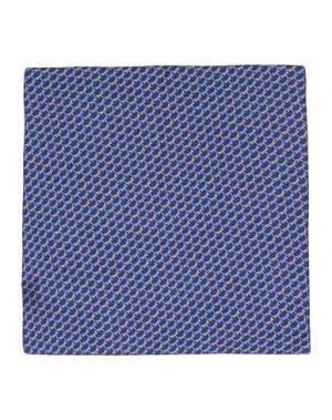 Платок MOSAIQUE. Цвет: темно-синий