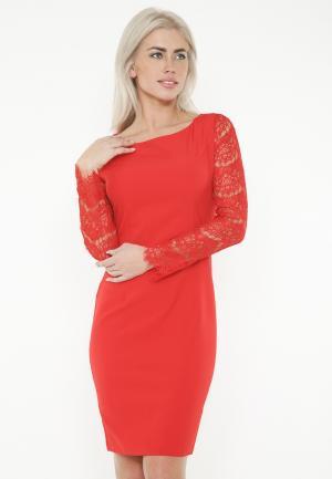 Платье Lussotico. Цвет: красный