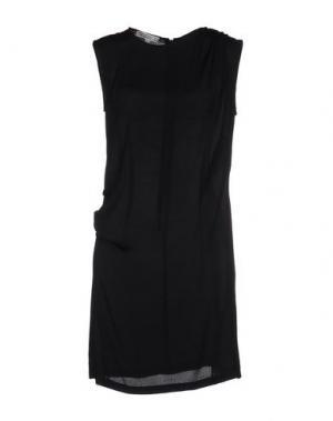 Короткое платье DAGMAR. Цвет: черный