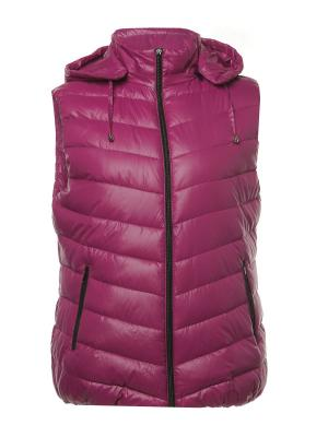 Жилет H&H.. Цвет: фиолетовый