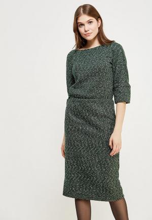 Платье Clabin. Цвет: серый