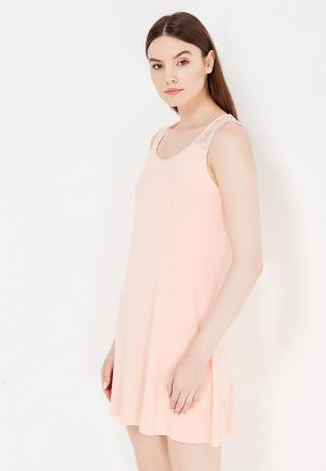 Сорочка ночная Vis-a-Vis. Цвет: оранжевый