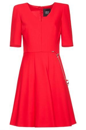 Платье Simple. Цвет: красный