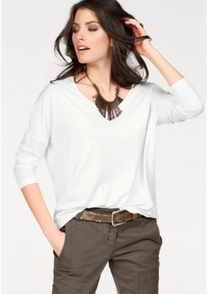 Кофточка Aniston. Цвет: светло-серый/меланжевый