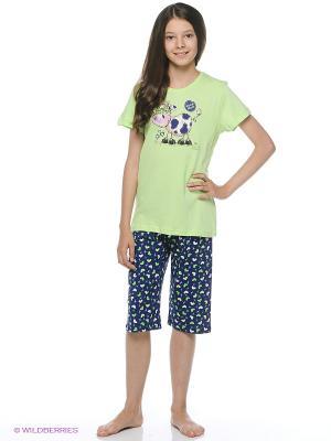 Комплект одежды Vienetta Secret. Цвет: зеленый