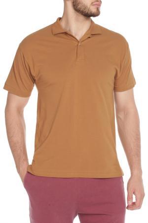 Рубашка-поло American Apparel. Цвет: camel
