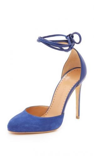 Туфли-лодочки Briar Rose Alexa Wagner. Цвет: голубой/голубой