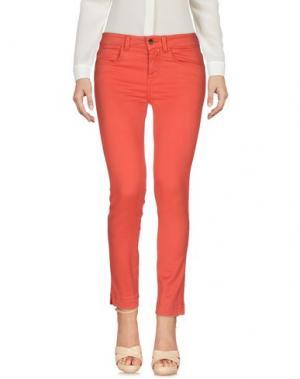 Повседневные брюки KAOS JEANS. Цвет: красный