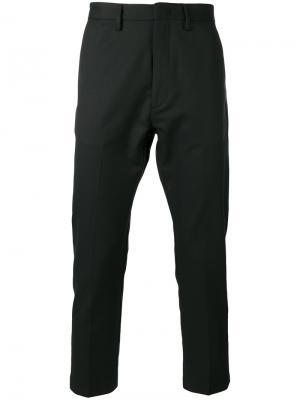 Укороченные брюки строгого кроя Pence. Цвет: чёрный