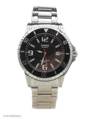 Часы Casio MTD-1053D-1A. Цвет: серебристый, черный