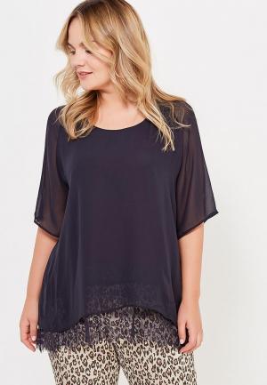 Блуза Junarose. Цвет: черный