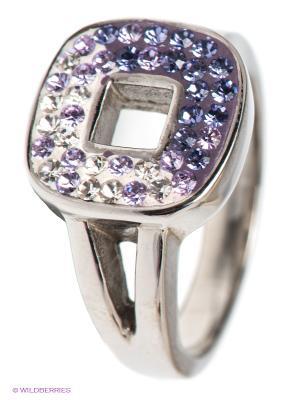 Кольцо Migura. Цвет: серебристый, фиолетовый