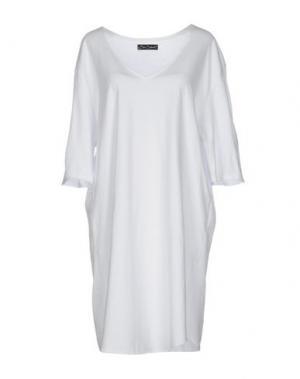 Короткое платье BAD SPIRIT. Цвет: белый