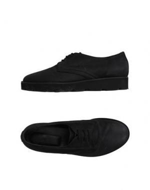 Обувь на шнурках GIENCHI. Цвет: черный