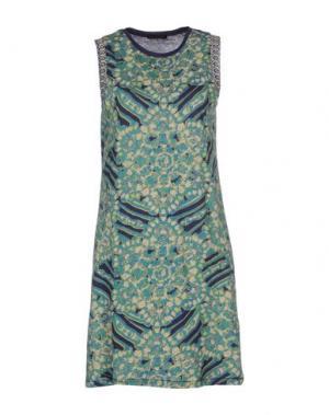 Короткое платье CUSTO BARCELONA. Цвет: зеленый