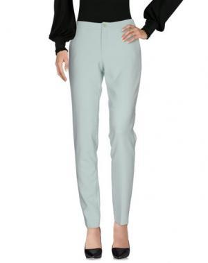 Повседневные брюки XANDRES. Цвет: светло-зеленый