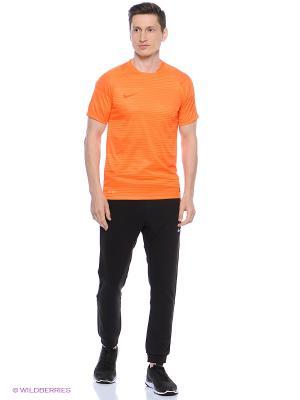 Футболка FLASH GPX SS TOP 1 Nike. Цвет: оранжевый