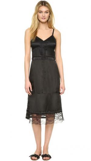 Платье-комбинация Marc Jacobs. Цвет: голубой