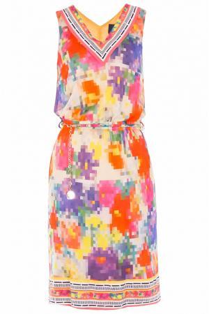 Платье Class Cavalli. Цвет: желтый